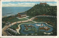 Bernheimer's Chinese Gardens, Pacific Palisades Postcard