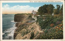 Point Firmin and Park Postcard