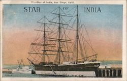 Star of India Postcard