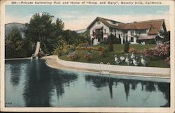 "Private Swimming Pool and Home of ""Doug and Mary"""