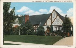 Residence of Lon Chaney