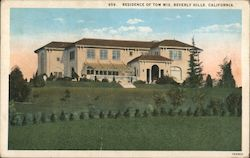Residence of Tom Mix