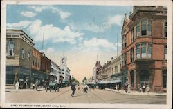 West Fourth Street Postcard