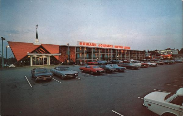 Howard Johnson's Motor Lodge Burlington Massachusetts