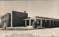 Student Union Building New Mexico University Postcard