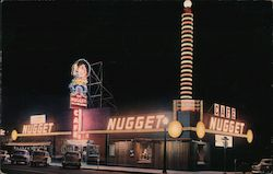 Carson City Golden Nugget Postcard