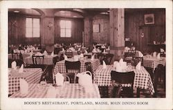 Boone's Restaurant Main Dining Room