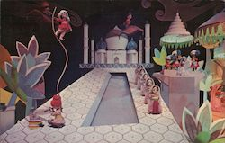 India - It's a Small World Postcard