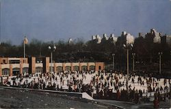 Wollman Memorial Skating Rink, Central Park Postcard
