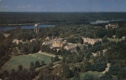 Aerial View of Pocono Crest Hotels