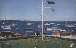 Anchorage of the Royal Hamilton Yacht Club