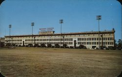 Stadium-Dormitory Mississippi Southern College Postcard