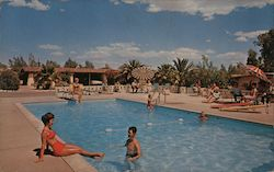Ghost Ranch Lodge Pool Postcard