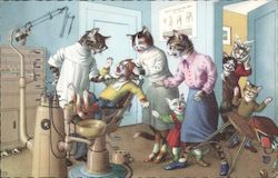 Cats at the Dentist