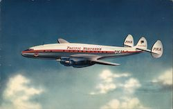 Pacific Northern Airline Constellation Flagliner