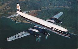 Delta Air Lines Golden Crown Dc-7s and DC-87s