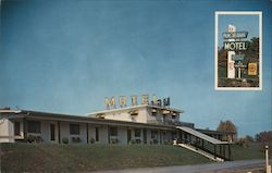 Panorama Motel Postcard