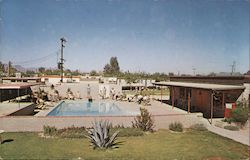 Carousel Ranch Mobile Home Park Postcard