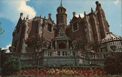 The Haunted Mansion Postcard