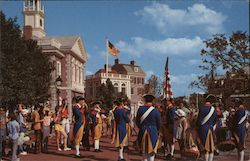 Liberty Square Fife and Drum Corps - Walt Disney World Postcard