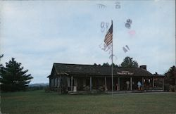 Northwest Trading Post - Blue Ridge Parkway Postcard