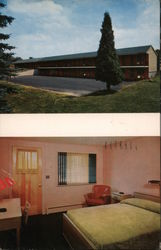 Algonkin Inn and Motel Postcard