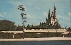 Monorail to the Magic Kingdom Postcard