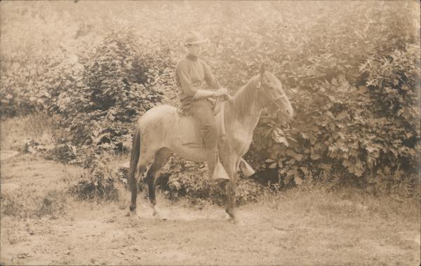 Cowboy and Horse Cowboy Western