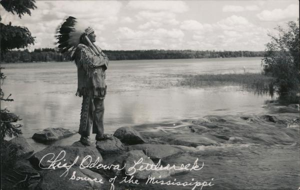 Chief Odemna Littlerockk, Source of the Mississippi