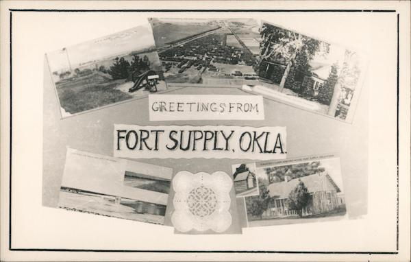 Greetings From Fort Supply, Oklahoma