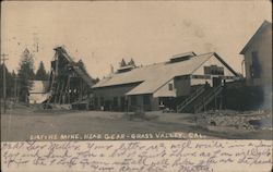 Empire Mine - Head Gear Postcard
