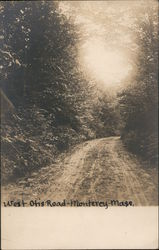 West Otis Road Postcard