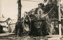 Home Management House Nasson College Postcard