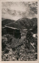 Mountain Home Inn on the famous Pipe Line Trail Postcard
