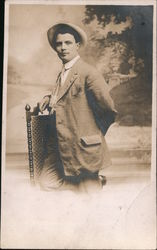 Photo of a man Postcard