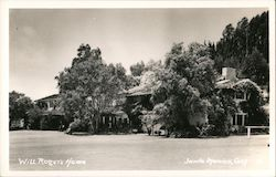 Will Rogers Home Postcard