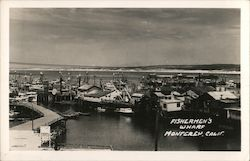Fisherman's Wharf Postcard