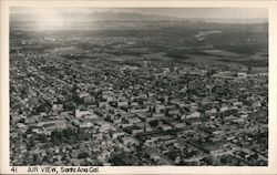 Air View Postcard