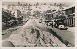 Winter in Susanville Postcard