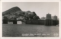 Boulder Dam as seen from the Nevada Shore