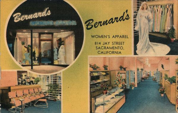 Bernard's Women's Apparel Sacramento California