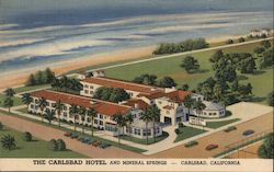 The Carlsbad Hotel and Mineral Springs Postcard