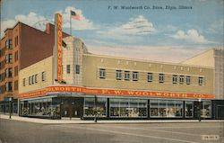 F.W. Woolworth Co Store Postcard