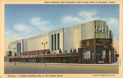 Sears Roebuck and Company's New Super Store Postcard