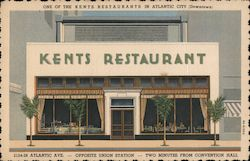 One of the Kents Restaurants in Atlantic City (Downtown) Postcard