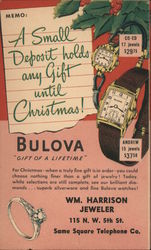 Bulova Watches for Christmas - Wm. Harrison Jeweler, Authorized Distributor