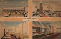 Main Bowling Academy Postcard