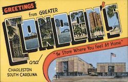 "Greetings from Greater Condon's and Charleston, South Carolina - ""The Store Where You Feel at Home"""