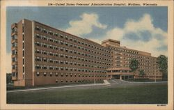 United States Veterans' Administration Hospital Postcard