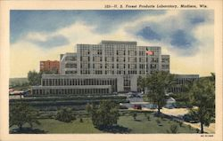 U.S. Forest Products Laboratory Postcard